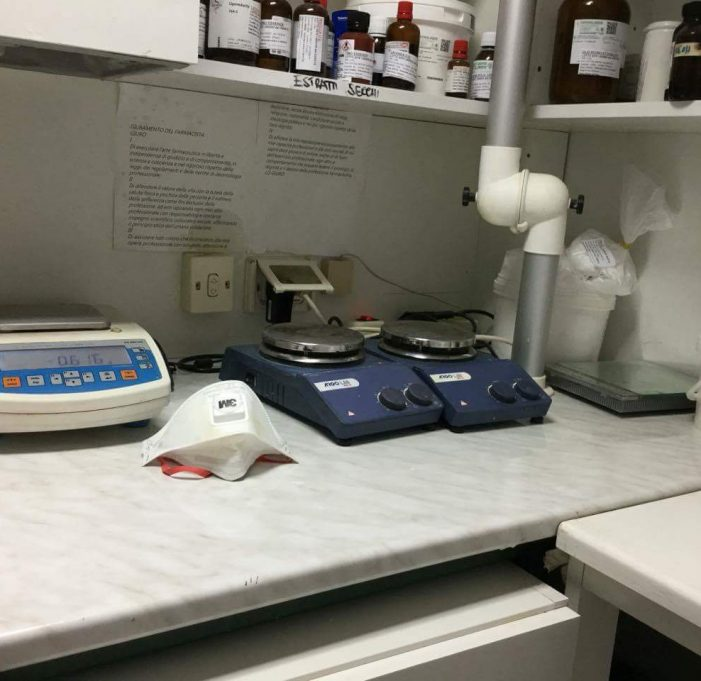 Laboratorio galenico interno